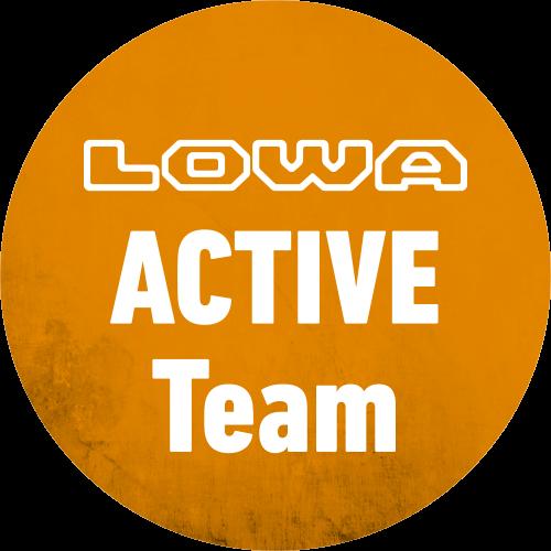 Logo LOWA ACTIVE Team